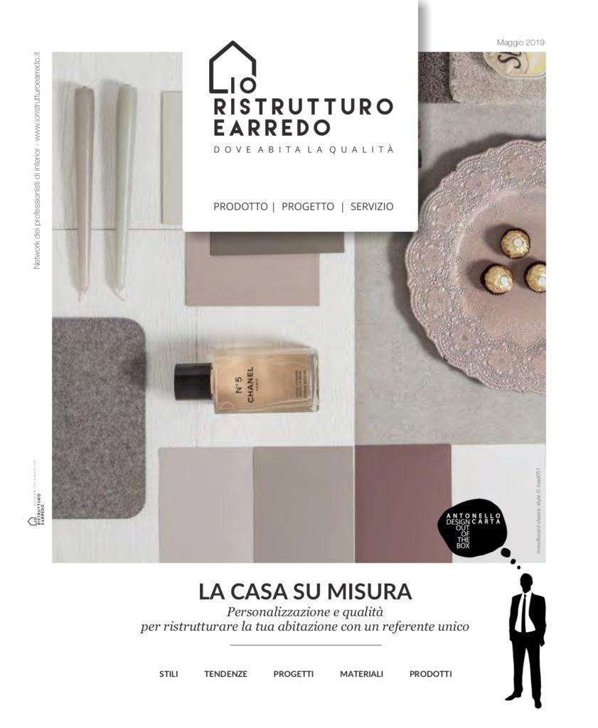 First Ioristrutturoearredo magazine for Antonello Carta